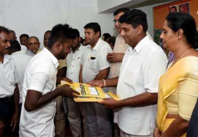 Granting of Scattered Housing Loan – Kegalle District