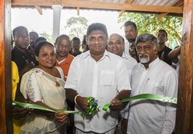 """Vijayaminigama"" declared open to Public"
