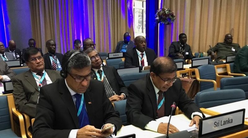 Sri Lankan made Statement at the Inaugural Session of UN HABITAT
