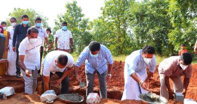 "The Anuradhapura District Inauguration Ceremony of the ""Mihindu Niwahana"" project"
